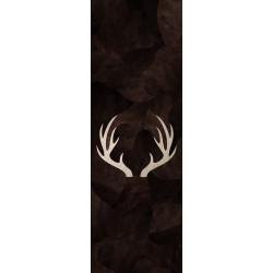 Tapis vinyle Cerf rectangulaire, 95x300cm, collection Mountain Sélection, Pôdevache