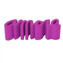 Banc Amore, Slide Design fuchsia Mat