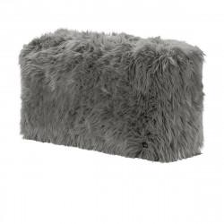 Module vertical pour le canapé Vetsak, fausse fourrure à poils longs grise