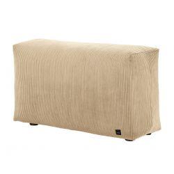 Module vertical pour le canapé Vetsak, velour cotelé sable