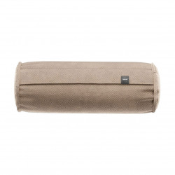 Coussin Noodle pillow 42 x 16 cm, pour canapé Vetsak, velours gris 'stone'