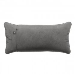 Coussin Pillow 60 x 30 cm, pour canapé Vetsak, velours gris foncé
