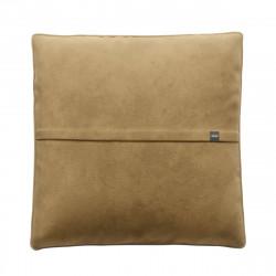 Coussin Jumbo pillow 100 x 100 cm, pour canapé Vetsak, velours caramel