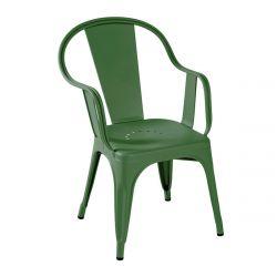Fauteuil C Brillant, Tolix vert romarin