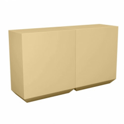 Banque d\'accueil Line, élément droit 2m, Proselec beige Mat