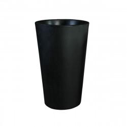 Grand X-pot noir, Slide Design noir Hauteur 107 cm