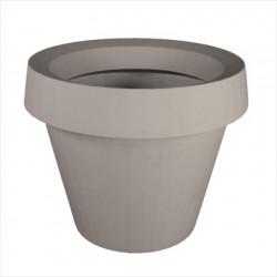 Grand Pot extérieur intérieur, Gio Big, Slide Design gris H 143 cm