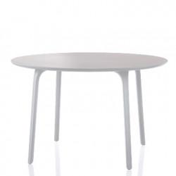 First, table ronde, Magis blanc diamètre 120 cm