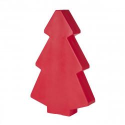 Sapin de Noël lumineux Lightree Indoor, Slide Design rouge Hauteur 100 cm