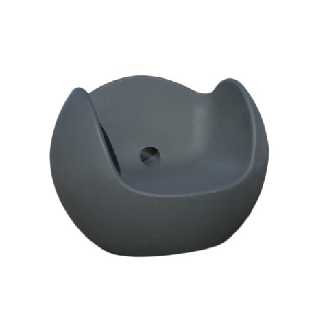 Fauteuil Blos, Slide Design gris
