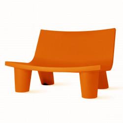 Fauteuil 2 places Low Lita Love, Slide Design orange