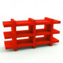 Etagère Booky Médium Slide rouge
