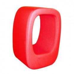 Tabouret/Table basse Lasy Bones, Slide Design rouge
