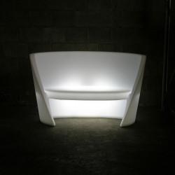 Canapé design Rap, Slide design lumineux