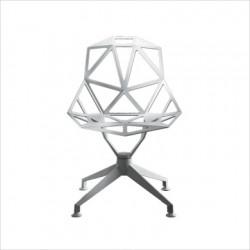 Chaise design One étoile fixe Magis blanc