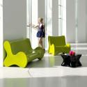 Sofa design Doux, Vondom orange