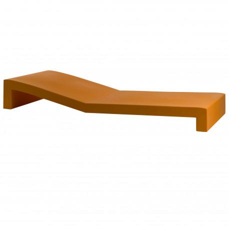 Chaise longue Tumbona Jut, Vondom orange