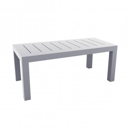 Table rectangulaire Jut L180cm, Vondom gris