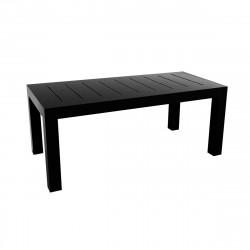 Table rectangulaire Jut L180cm, Vondom noir