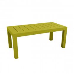 Table rectangulaire Jut L180cm, Vondom vert