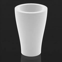Pot Curvada diamètre 55 cm lumineux, Vondom blanc