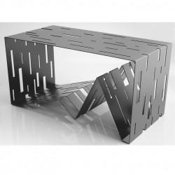 Data table basse design Diamantini & Domeniconi gris