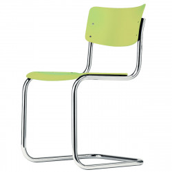 S43 Chaise luge Cantilever, Thonet vert