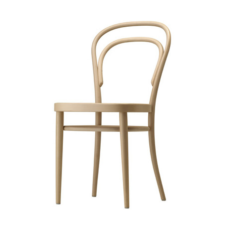 214M Chaise bistrot Thonet, assise bois bois naturel