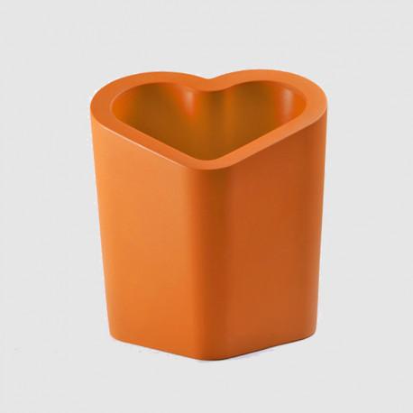 Pot design Mon amour, Slide design orange