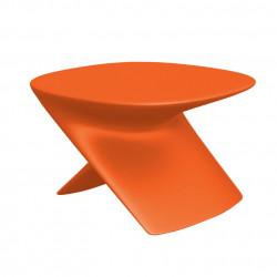Table basse Ublo, Qui est Paul ? orange, avec défauts d'aspects
