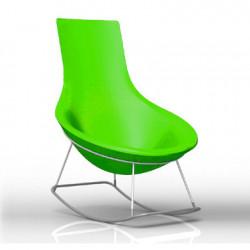 Rocking Chair Tom Yam, Qui est Paul? vert