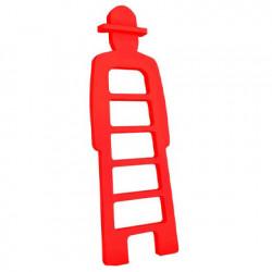 Mr Giò, meuble multifonction, slide design rouge