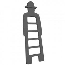 Mr Giò, meuble multifonction, slide design gris