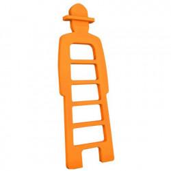 Mr Giò, meuble multifonction, slide design orange