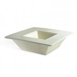 Pot Bench, Slide Design blanc Petit modèle