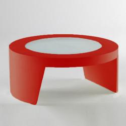 Table basse Tao, Slide Design rouge