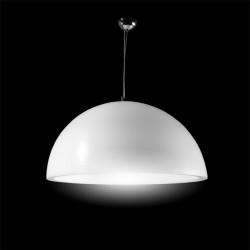 Suspension Cupole, Slide Design blanc Diamètre 120 cm