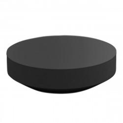 Table basse design ronde Vela diamètre 120cm, Vondom anthracite