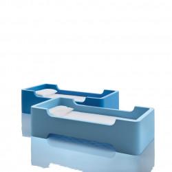 Lit à une place / lit superposé Bunky, Magis Me too bleu foncé