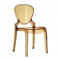 Queen 650 chaise design, Pedrali ambre