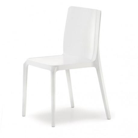Blitz 640 chaise, Pedrali blanc