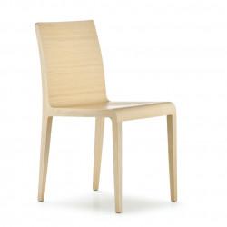 Lot de 2 chaises en chêne, Young 420, Pedrali chêne