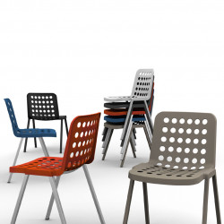 Koi-Booki 370 chaise, Pedrali orange