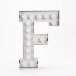 Lettre géante LED Vegaz, Seletti f