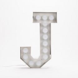 Lettre géante LED Vegaz, Seletti j