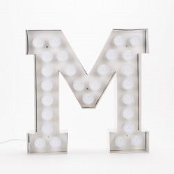 Lettre géante LED Vegaz, Seletti m