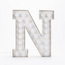 Lettre géante LED Vegaz, Seletti n
