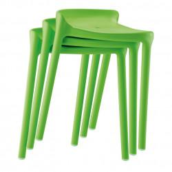 Tabouret Happy 491, Pedrali vert