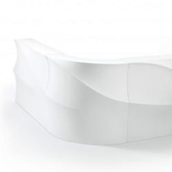 Elément d'angle Bar Baraonda, MyYour blanc
