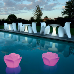 Chaise design Lily, MyYour blanc